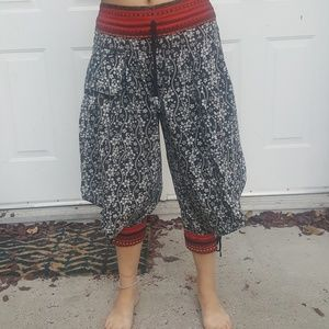 Pants - Cotton festival pants. Small size 4.   Like new